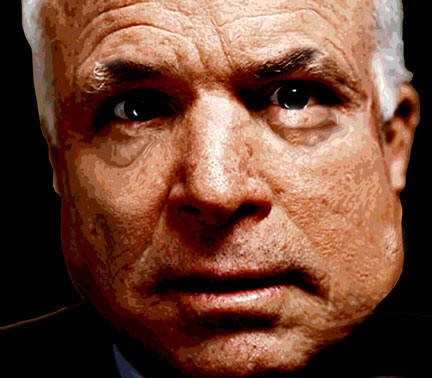 Zombie McCain. He only looks alive.